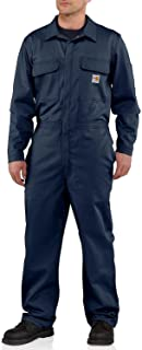 Carhartt Men's Big & Tall Flame Resistant Traditional Twill Coverall