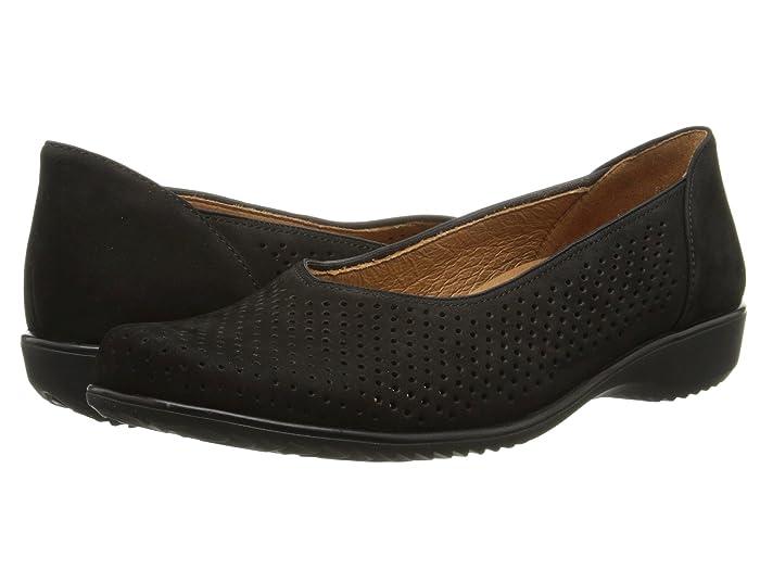 ara  Avril (Black Nubuk) Womens Slip on  Shoes