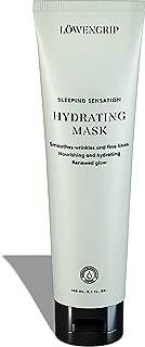 Löwengrip Sleep Sensation Hydrating Mask - Hyaluronic Acid & Allantoin. Moisturizes & Repairs. Sweden's Fastest Growing Beauty Brand. Fragrance Free. All Skin Types + Sensitive - 100 ml