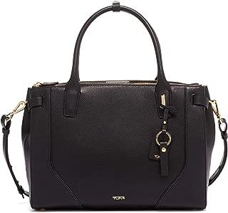 TUMI - Stanton Kiran Leather Laptop Tote - 13 Inch Computer Bag for Women - Black/Gold