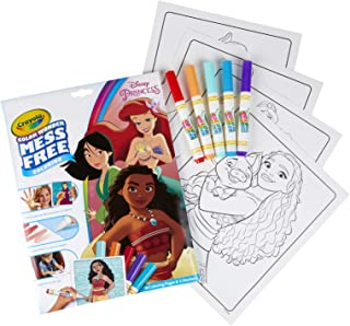 Crayola 75-7003 Mess Free Disney Princess Color Wonder Pad and Markers
