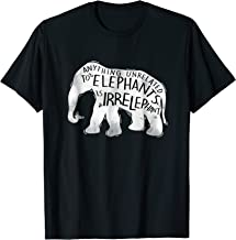 anything unrelated to elephants is irrelephant