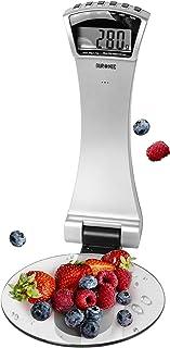 Duronic KS4000 Báscula de cocina digital diámetro de 16cm