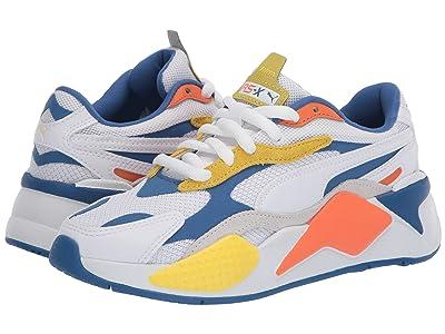 Puma Kids RS-X3 Puzzle (Big Kid) (White) Boys Shoes