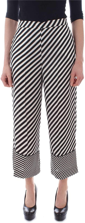Emme Marella Women's 51311995BLACK Black Polyester Pants