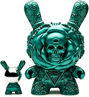 Kidrobot Arcane Divination The Clairvoyant 8 Inch Dunny Teal Figure