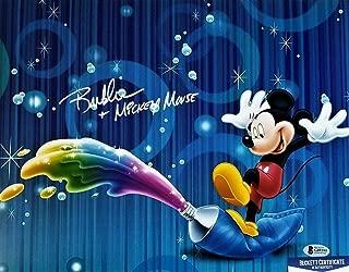 Bret Iwan Autographed Signed Memorabilia Mickey Mouse 11X14 Photo Beckett Bas COA 95 Autograph Disney