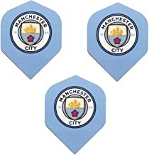 Manchester City Football Club Premier League Soccer 75 Micron Strong Dart Flights (1 Set)