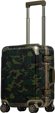 [PROEVO/プロエボ] [アウトレット] スーツケース フレームキャリー Sサイズ 機内持ち込み 静音 ダブルキャスター 8輪 軽量 アルミフレーム TSAロック キャリーケース キャリーバッグ ハードキャリー