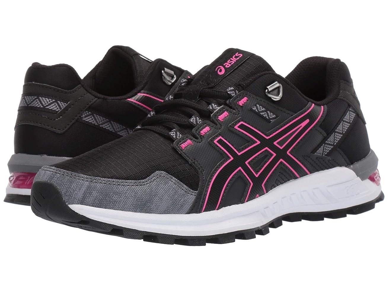 [アシックス] レディースランニングシューズ?スニーカー?靴 Gel-Citrek Black/Black 6 (23cm) B [並行輸入品]