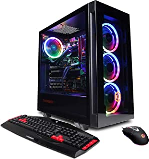 CyberpowerPC Gamer Supreme Liquid Cool Gaming PC, Intel Core i7-9700K 3.6GHz, NVIDIA GeForce RTX 2070 Super 8GB, 16GB DDR4...