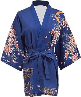 GRACEART Sakura Yukata Haori Bata de Baño