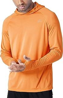 Willit Men's UPF 50+ Sun Protection Hoodie Shirt Long...