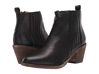 Frye Alton Chelsea (Black Soft Full Grain) Women