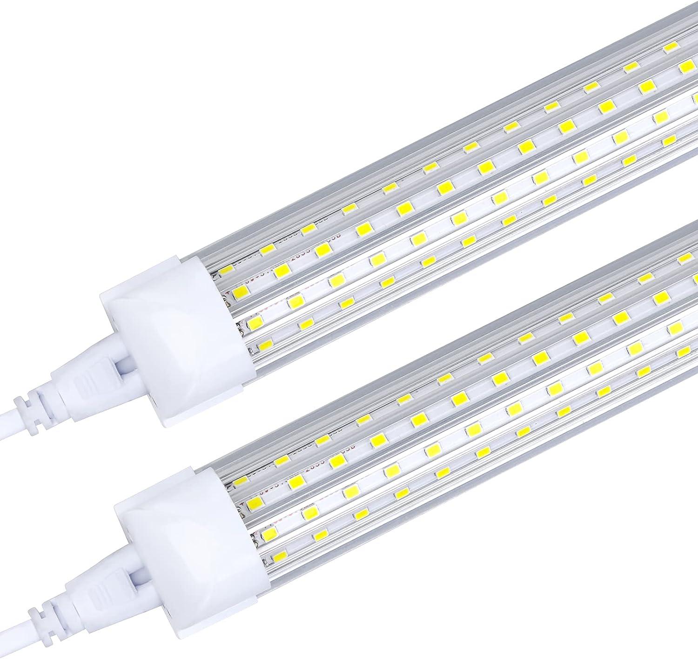 6-Pack LED Shop Light Manufacturer direct delivery 8FT 5000K 14500LM OFFicial White 144W Daylight