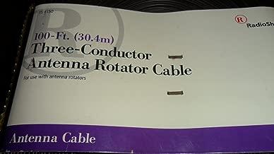 RadioShack 100-Ft. (30.4) Three-Conductor Antenna Rotator Cable