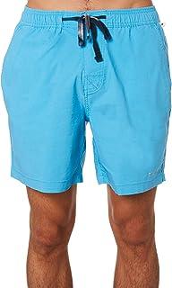 The Critical Slide Society Men's Decade Mens Beach Short Cotton Nylon Black