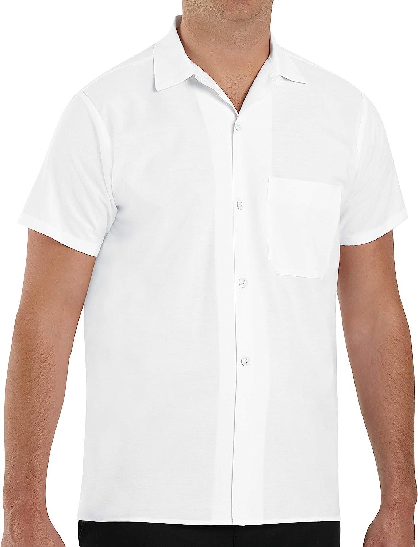 Chef Designs Men's Button-Front Cook Shirt