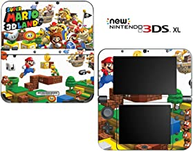 Super Mario 3D Land Decorative Video Game Decal Cover Skin Protector for New Nintendo 3DS XL (2015 Edition)