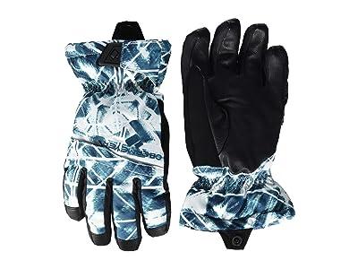 Obermeyer Kids Lava Gloves (Little Kids/Big Kids) (Southwest Blues) Extreme Cold Weather Gloves