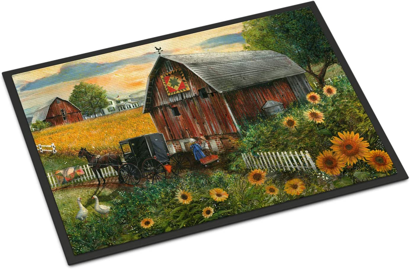 Caroline's Ranking TOP2 Treasures PTW2003MAT Sunflower Country New product Barn Paradise