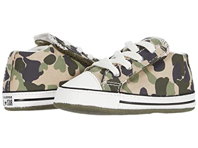 Converse Kids Chuck Taylor(r) All Star(r) Cribster (Infant/Toddler) (Vintage Khaki/Vintage White) Kid