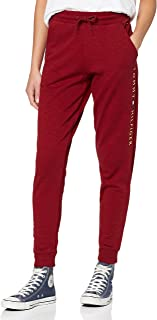 Tommy Hilfiger Women's Cuffed Pant Thermal Set, Red (RED 629), One (Size: X-Small)