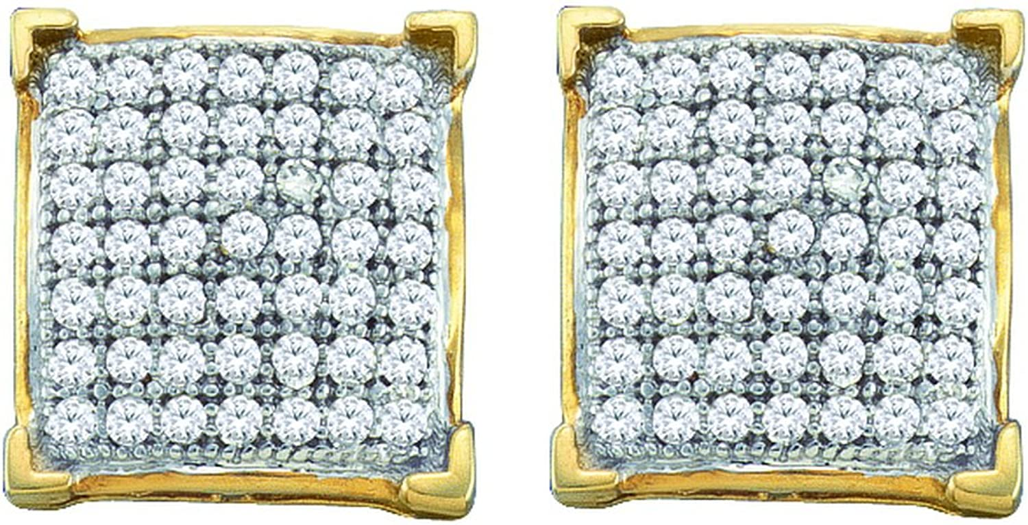 1 20 Carat DIAMOND MICROPAVE EARRING
