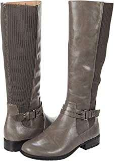 حذاء برقبة حتى الركبة X-Anita للنساء من LifeStride, (رمادي), 39 EU Wide