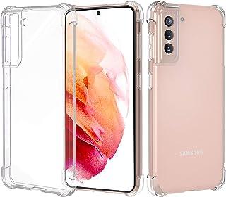 Migeec Funda para Samsung Galaxy S21 5G Suave TPU Gel Carcasa Anti-Choques Anti-Arañazos Protección a Bordes y Cámara Prem...