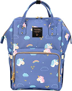 Sunveno Diaper Bag, Unicorn blue