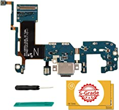 KR-NET USB Charging Port Charger Flex Repair Replacement for Samsung Galaxy S8+ Plus (SM-G955U), with Tools
