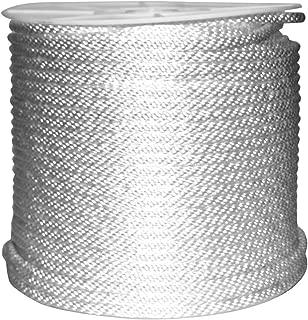 Rope King SBN-38500 Solid Braided Nylon Rope 3/8 inch x 500 feet