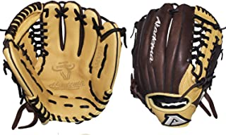 Akadema Pattern Modified-Trap Web Gloves with Open Back and Medium-Deep Pocket