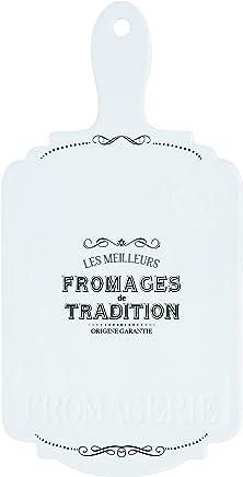 Preisvergleich für R2S 842dego Délices der Gourmets Tablett Käse Keramik weiß 48x 28x 4cm