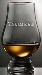 TALISKER NAME DISTILLERY LOGO GLENCAIRN SINGLE MALT SCOTCH WHISKY TASTING GLASS