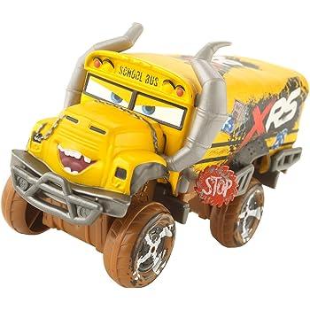 Disney Cars GBJ46 - XRS Xtreme Racing Serie Schlammrennen Die-Cast Spielzeugauto Deluxe Miss Fritter, Spielzeug ab 3 Jahren