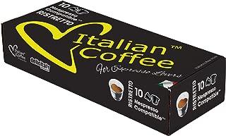 Nespresso compatible Italian Expresso capsules (Ristretto, 200)