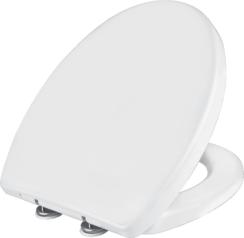 Cornat WC-Sitz LACUNA weiß weiß weiß   Toilettensitz   Toilettendeckel   Klodeckel   WC-Deckel   Absenkautomatik   Duroplast   KSLAC00 B00AGB5Y0O 2af38c