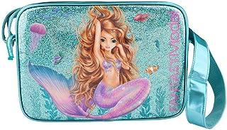 Depesche 10391 Umhängetasche Fantasy Model Mermaid, türkis, ca. 34 x 24 x 10 cm, bunt