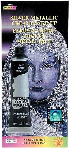 echa un vistazo a los más baratos MyPartyShirt plata Metallic Cream Cream Cream Makeup  ahorra hasta un 50%