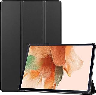 جراب TingYR لجهاز Samsung Galaxy Tab S7 FE Tablet من الجلد، حامل قابل للطي، حماية شاملة، جراب للكمبيوتر اللوحي لهاتف Samsu...