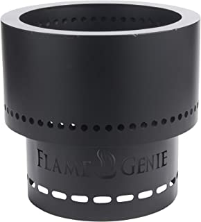 HY-C FG-16 Flame Genie Portable Smoke-Free Wood Pellet Fire Pit, USA Made, 13.5