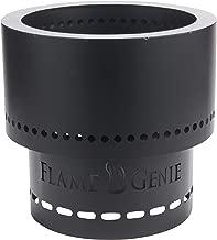HY-C FG-16 Flame Genie Portable Smoke-Free Wood Pellet Fire Pit, USA Made, 13.5