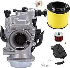 Carburetor TRX300 /w Fiter for Honda Fourtrax TRX300fw TRX350 Rebuild Replacement TRX450fe Rancher 1995-2006 ATV Moto Carb