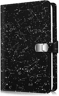 Fintie Álbum de Fotos para Fujifilm Instax Wide 300 Polaroid OneStep 2-64 Fotos [Broche Magnético] Álbum de Fotografías Compatible con Polaroid Pop 3.5x4.5 Pulgadas Película Constelación