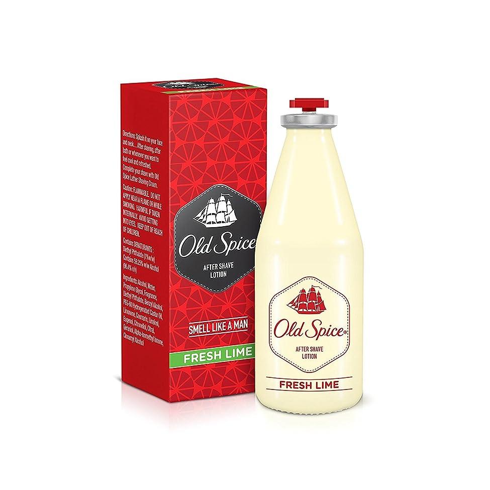 タクシー拍車哲学的Old Spice After Shave Lotion 150ml - Fresh lime Fragrances