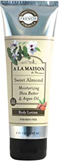 A La Maison Lotion, Sweet Almond, 8 fl oz