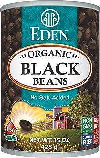 Eden Foods Organic Black Beans Can (12x15 OZ)
