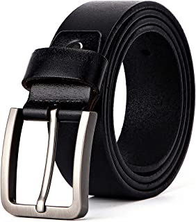 XIANGUO Mens Belt Fashion Trends Genuine Leather Reversible Belt Automatic Buckle 35mm Wide